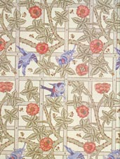 William Morris, Trellis Wallpaper