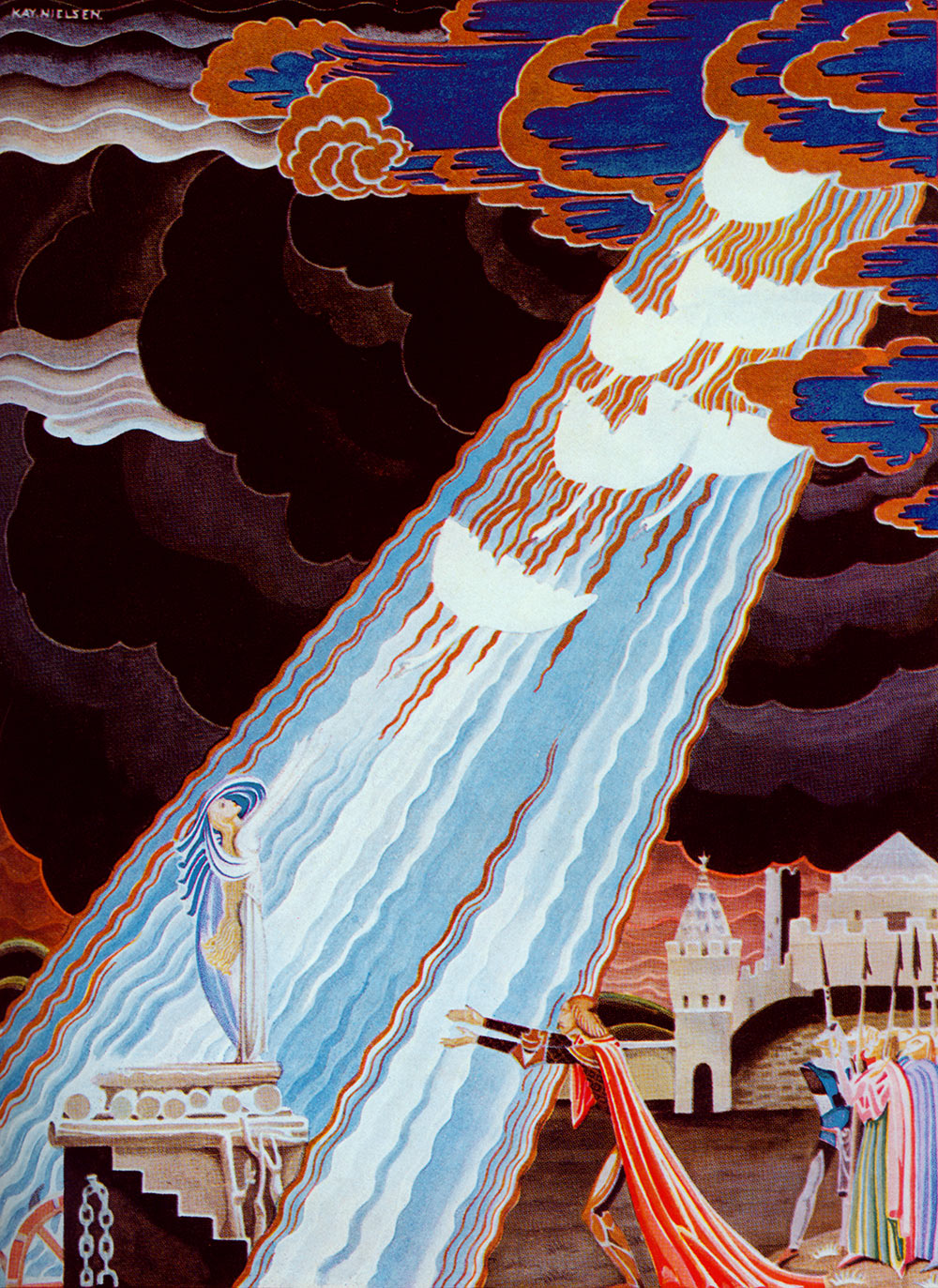 The Six Swans from the Fairy Tales of the Brothers Grimm
