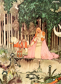 Kay Nielsen, He saw the girl in the tree