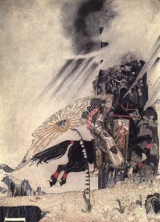 He Horse Begged Him to Look Behind, Kay Nielsen