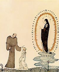 Kay Nielsen, I am the Virgin Mary