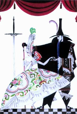 Kay Nielsen, Red Magic: Frontispiece