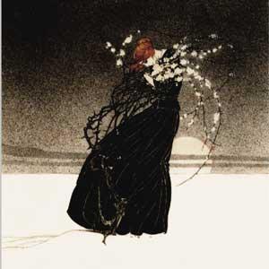 Kay Nielsen, Story of a Mother art print