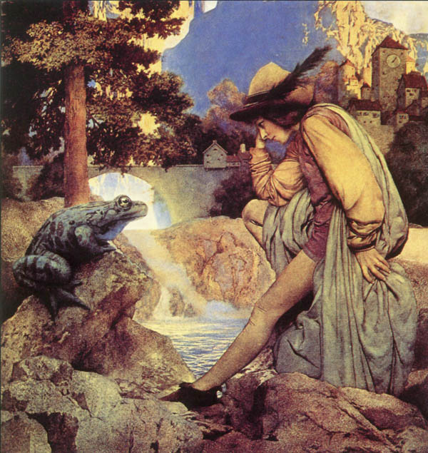 Frog Prince, Maxfield Parrish