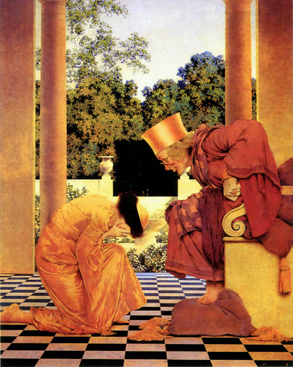 Lady Ursula, Maxfield Parrish