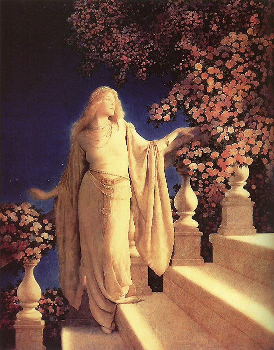 Cinderella, by Maxfield Parrish
