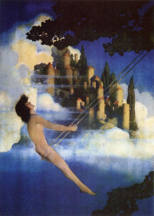 The Dinky Bird, by Maxfield Parrish