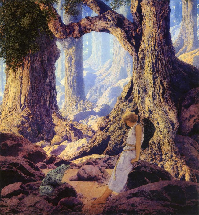 The Enchanted Prince, by Maxfield Parrish