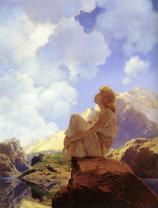 Morning, Maxfield Parrish