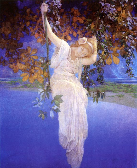 Reveries, Maxfield Parrish