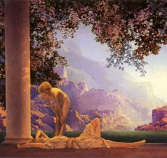 Maxfield Parrish: Daybreak