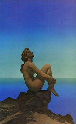 Maxfield Parrish: Stars