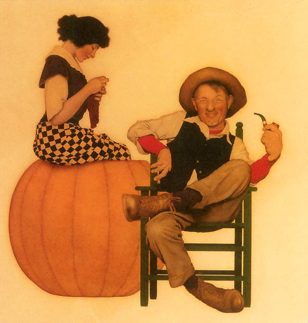 Peter Pumpkin Eater, Maxfield Parrish