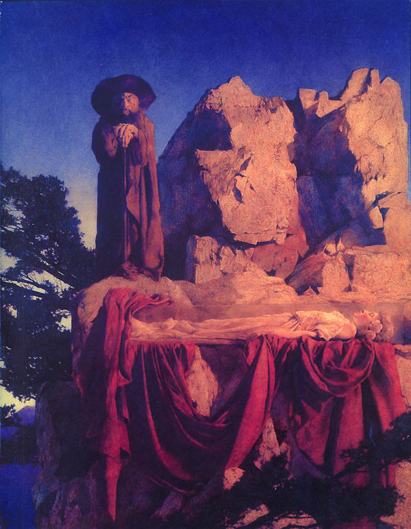 Snow White, by Maxfield Parrish