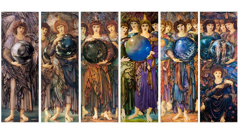 Edward Coley Burne-Jones, Days of Creation Angels