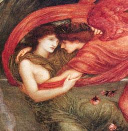Cupid Delivering Psyche, Edward Burne-Jones