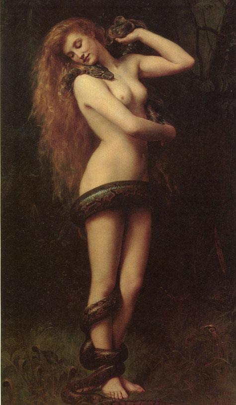 Лилит - первая жена Адама в теории Каббалы