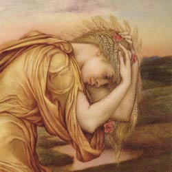 Demeter Mourns Persephone by Evelyn De Morgan
