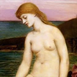 Little Sea Maid by Evelyn De Morgan