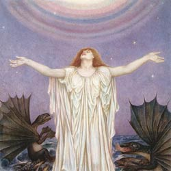Save Our Souls (S.O.S.) by Evelyn De Morgan