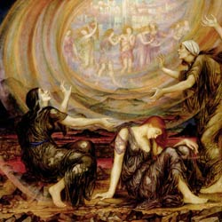 Evelyn De Morgan : The Mourners