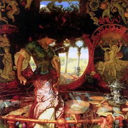 William Holman Hunt, Lady of Shalott