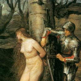 Knight Errant, Millais