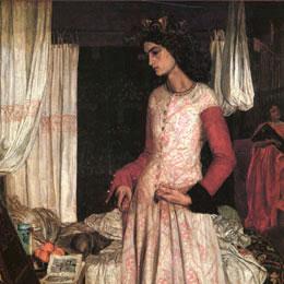 Guinevere, or La Belle Iseult, William Morris2
