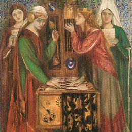 Dante Gabriel Rossetti, Blue Closet