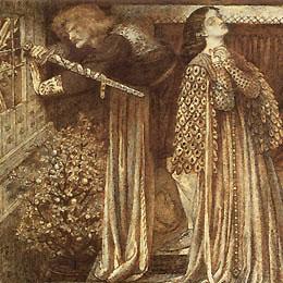 Lancelot in the Queen's Chamber