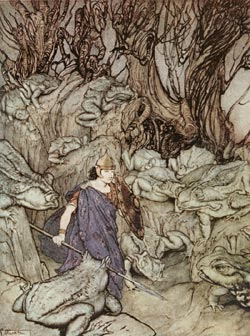 Irish Fairy Tales, Arthur Rackham