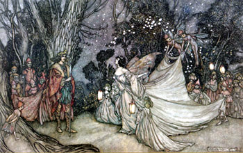 Meeting of Oberon and Titania