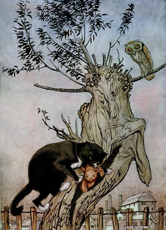 Murrum's Revenge, from Arthur Rackham's illustration to Poor Cecco