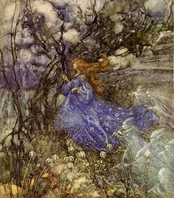 Arthur Rackham, A Fairy