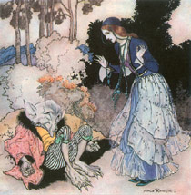 Arthur Rackham, Beauty and the Beast