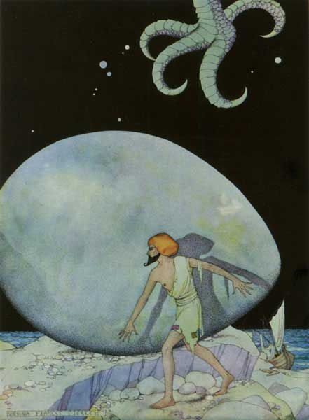 The Tale of Sinbad the Sailor: The Sky Became Dark, Virginia Frances Sterrett