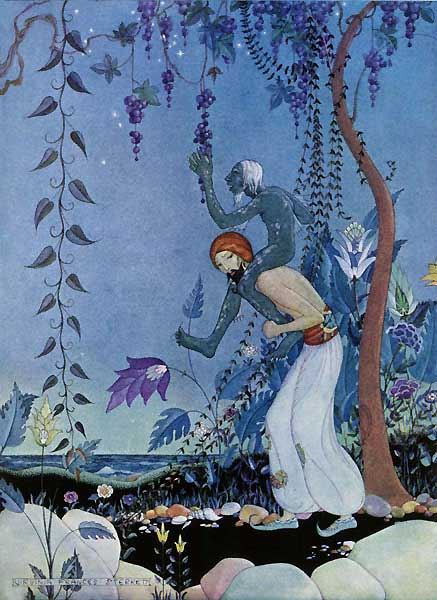 The Fifth Voyage Sinbad the Sailor: They Stopped to Gather Fruit.