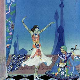 Virginia Sterrett, Arabian Nights