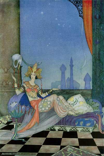 Scheherazade, Virginia Frances Sterrett