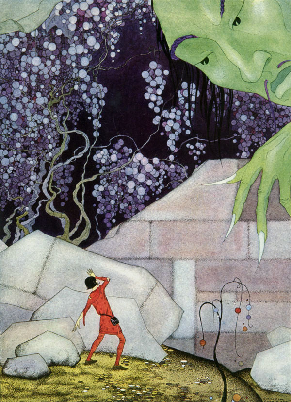 The Genie of the Mountain, Virginia Frances Sterrett: Old French Fairy Tales