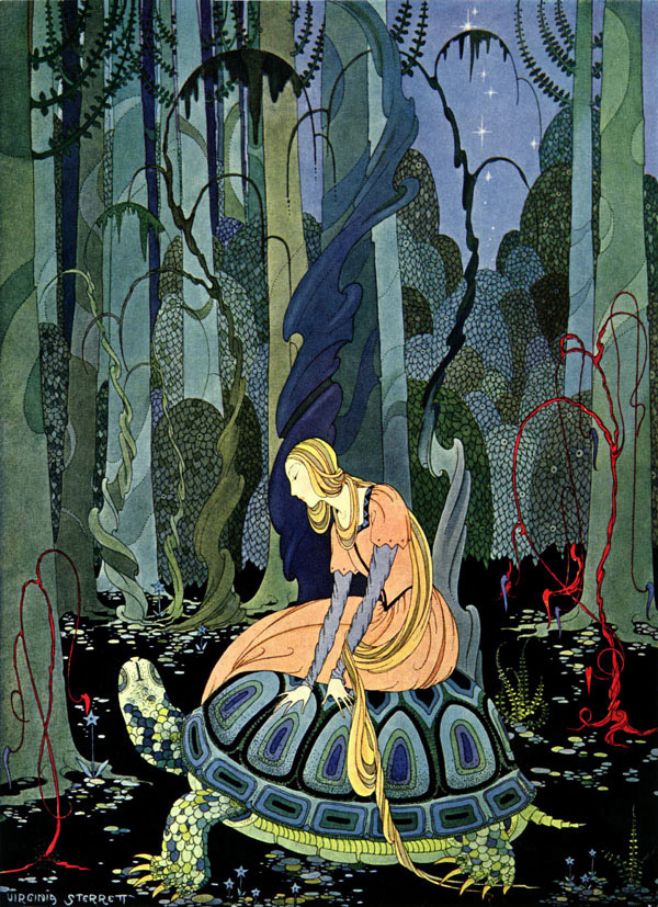 Blondine and the Tortoise, Virginia Frances Sterrett: Old French Fairy Tales