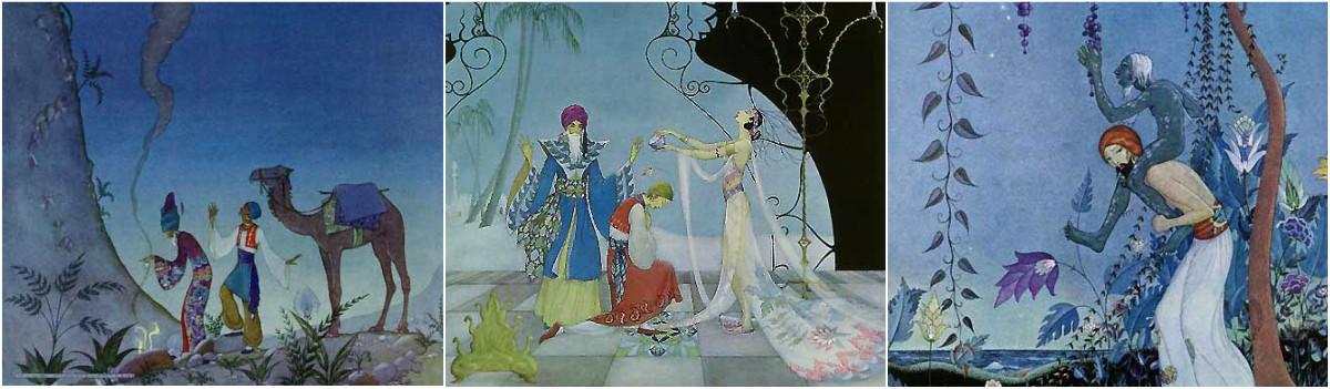 Virginia Frances Sterrett: Arabian Nights Art Prints at Artsy Craftsy