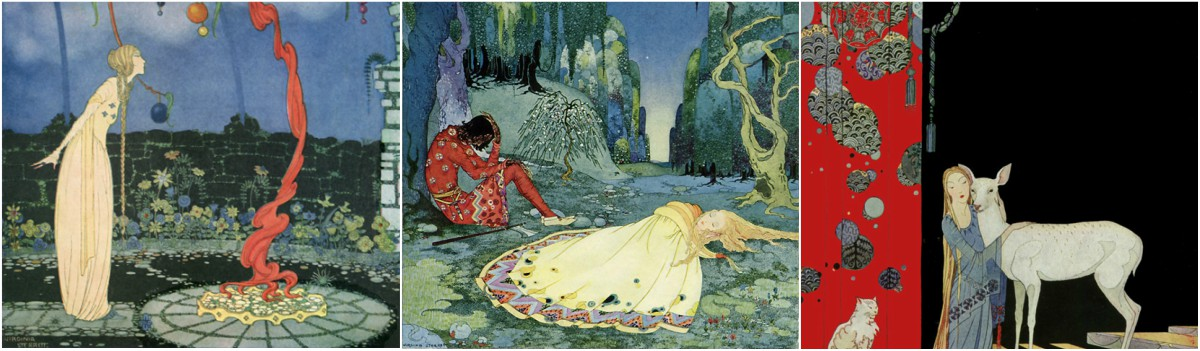 Virginia Frances Sterrett: Old French Fairy Tales Art Prints at Artsy Craftsy