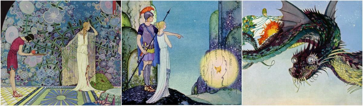 Virginia Frances Sterrett: Tanglewood Tales Art Prints at Artsy Craftsy